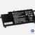 bateria 751681-421 hp envy 17t-3000 série 11.1v laptop novo orig