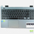 Palmrest AP154000900HA touchpad Acer E15 series cinza original