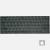 teclado QWERTY US Apple G4 PowerBook 77-48.N3201.001 original
