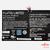 Bateria FPCBP410 Fujitsu LIFEBOOK U series 48Wh Original Nova