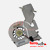 Toshiba Satellite A200 Cooling Heatsink with Fan AT019000110