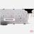 Teclado CP297220-02 Fujitsu Lifebook S710 branco PT original