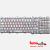 keyboard Toshiba NSK-TBZ06 PT K000077540 Silver laptop