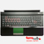 Teclado e palmrest BA75-03202L Kit Samsung RC530 Original