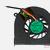 ADDA AB0605HX-EB3 Fan Toshiba A80 series ATZYH000100 original