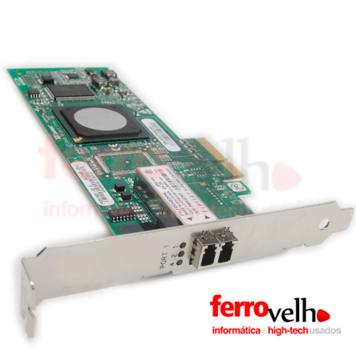 Adaptador Fibra Host Bus Channel 4GB DUAL PORT PCI EXPRESS