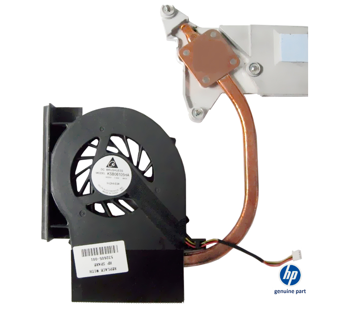 Fan dissipador 532605-001 HP Pavilion G61 CQ61 series original