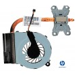 Fan e dissipador 657942-001 HP Pavilion G6-1000 series original