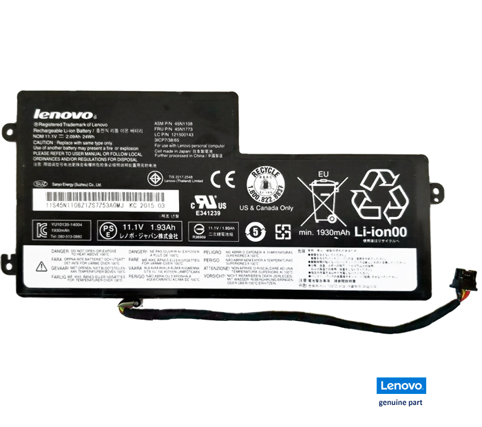 bateria 45N1773 Lenovo ThinkPad T440 T450 series original