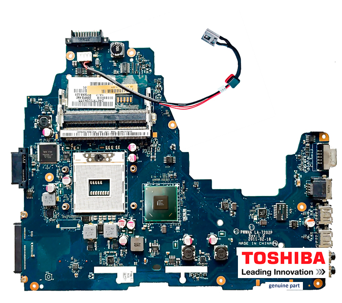 Motherboard Toshiba LA-7202P Satellite C660 socket Intel PGA 989