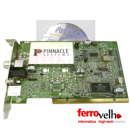 Placa Vídeo e Captura Pinnacle TV EMPTYV-51013170-1 4A PCI