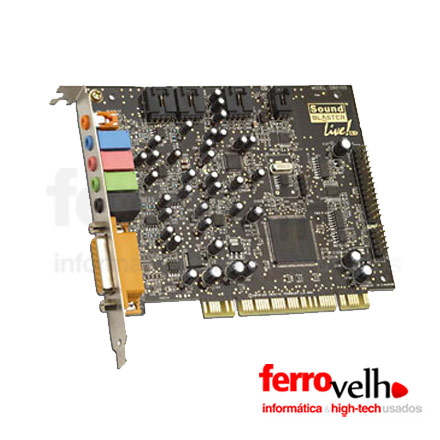 Placa de Som Creative Sound Blaster Live CT4760