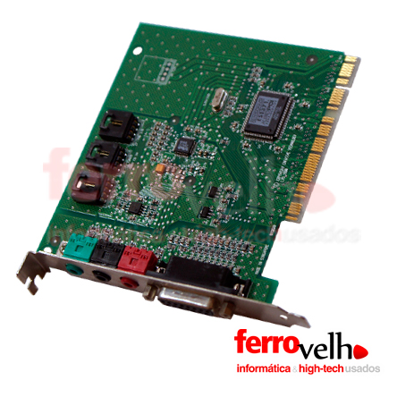 Placa de Som Creative ES1371 PCI