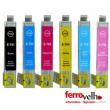 Pack 6 cores - Tinteiros Compatíveis Epson T079